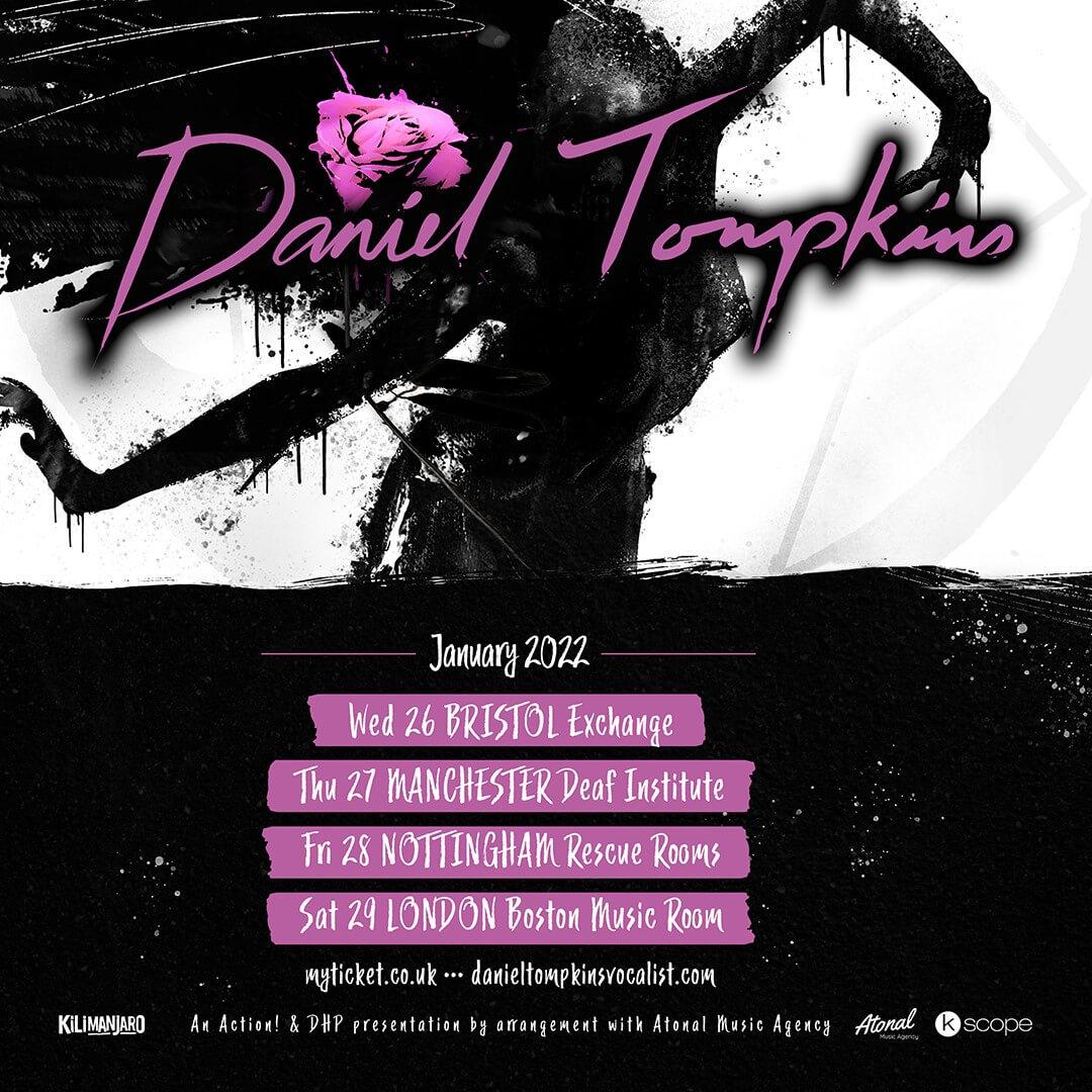 Daniel Tompkins tour poster